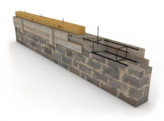 армопояс из бетона